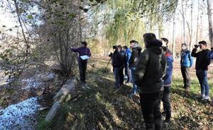 Alumnos de Palencia estudiarán el geoparque de Las Loras