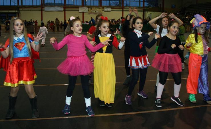 La segunda fiesta infantil cierra el carnaval de Cuéllar