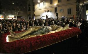 Programa de procesiones del Viernes de Dolores, 23 de marzo, en Valladolid