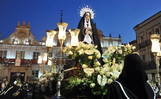 Programa de procesiones del Viernes Santo, 30 de marzo, en Medina del Campo