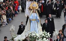 Programa de procesiones del Domingo de Resurrección, 1 de abril, en Medina del Campo