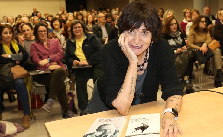 Rosa Montero, en el ciclo 'Cronistas del Siglo XXI' de la Fundación Miguel Delibes