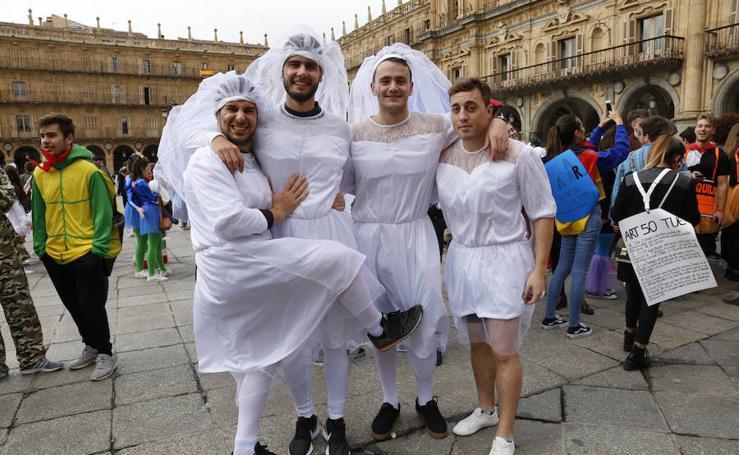 Alumnos de Derecho de Salamanca celebran la fiesta del Codex en honor a San Raimundo de Peñafort