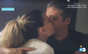 Gustavo González y María Lapiedra suben la temperatura de 'Sálvame'
