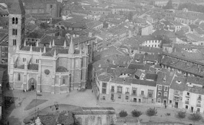 Descubre cómo se veía Valladolid desde el cielo en 1945