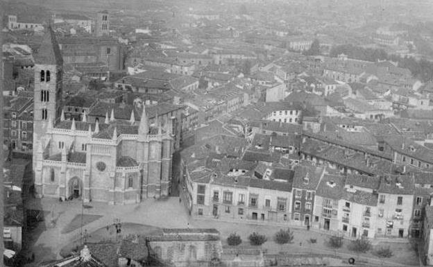 Descubre c mo se ve a valladolid desde el cielo en 1945 el norte de castilla - Fotos del real valladolid ...