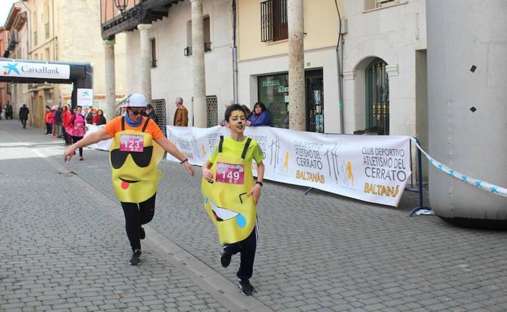 Baltanás corre a favor de la Fundación San Cebrián