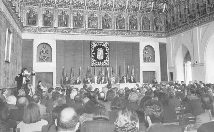 Históricas celebraciones de los aniversarios del Estatuto de Autonomía de Castilla y León