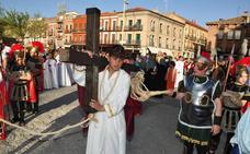 Programa de procesiones del Jueves de Pasión, 22 de marzo, en Medina del Campo