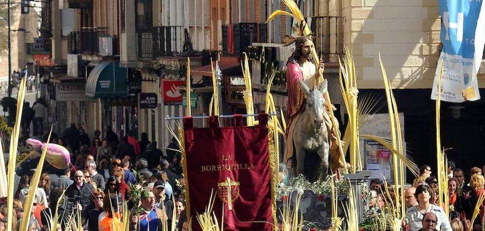 Programa de procesiones del Domingo de Ramos, 25 de marzo, en Medina del Campo