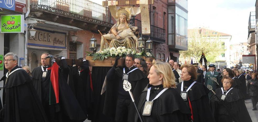 Programa de procesiones del Viernes de Dolores, 23 de marzo, en Medina del Campo