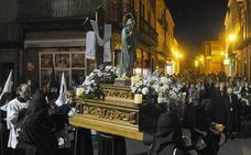 Programa de procesiones del Martes Santo, 27 de marzo, en Medina del Campo