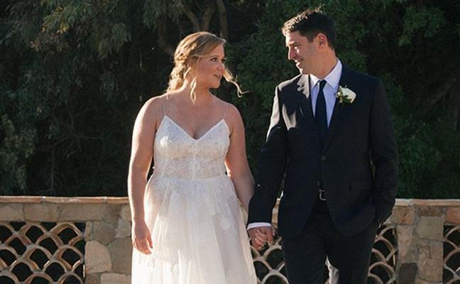 Amy Schumer y Chris Fischer, marido y mujer