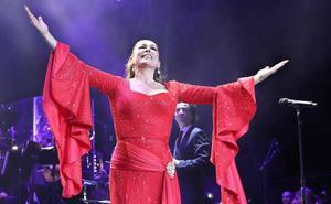 Isabel Pantoja, triste por la cancelación de sus conciertos en América