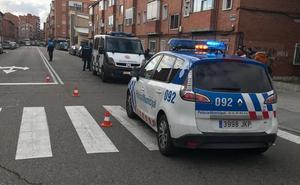 Atropellado un hombre en Valladolid por un conductor sin seguro que se dio a la fuga