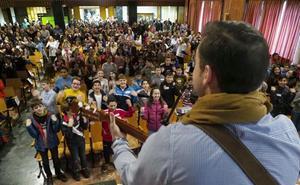 Unos 800 alumnos de colegios de Valladolid compiten en las primeras olimpiadas de religión
