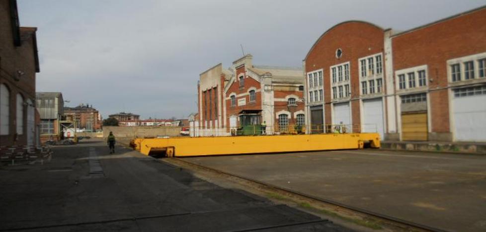 Renfe invertirá 440.000 euros para una cabina de pintura antes del traslado a las naves de San Isidro