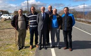 La Salina invierte 170.000 euros en la carretera de Colmenar de Montemayor hasta Pinedas