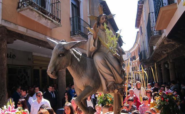 Programa de procesiones del Domingo de Ramos, 25 de marzo, en Medina de Rioseco