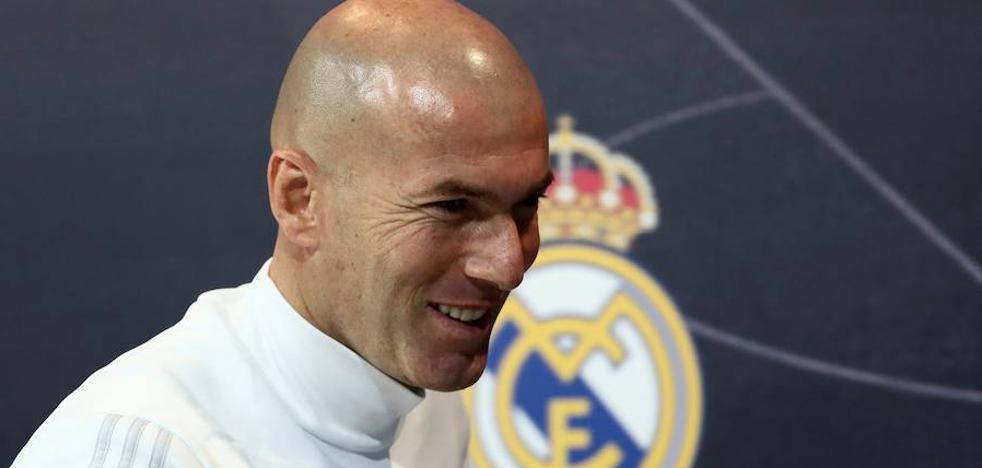Zidane: «Entrenar desgasta, pero más aquí que en otros sitios»