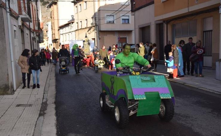 Velilla del Río Carrión celebra un aplazado carnaval