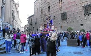 El Nazareno de la Vera Cruz preside el Vía Crucis de la Junta