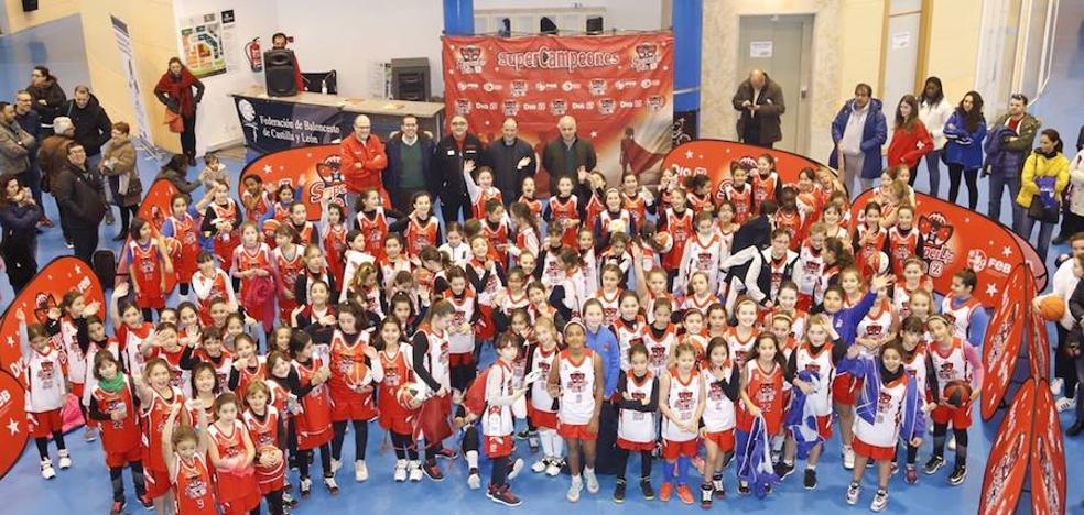 La SuperLiga Dia-FEB para la cantera arranca en Salamanca con 144 niñas