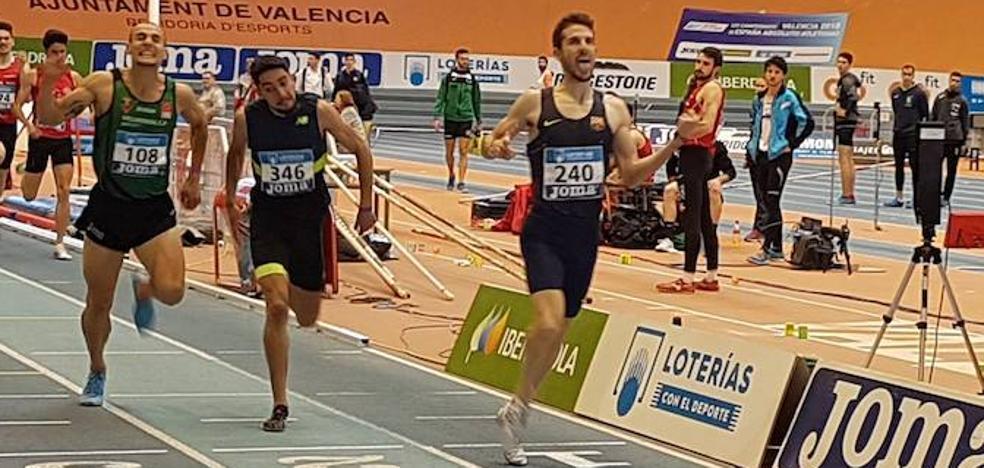Álvaro de Arriba, nuevo campeón de España de 800 metros