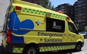 Herido un varón en una salida de vía en Villanueva-Matamala