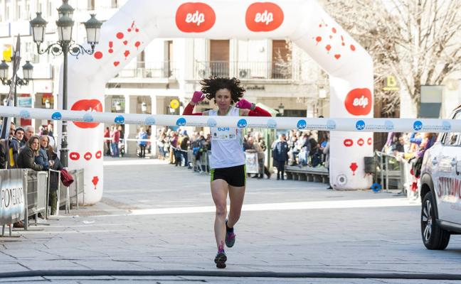 Luis Miguel Sánchez y Marta Vírseda repiten triunfo en la Carrera Monumental de Segovia