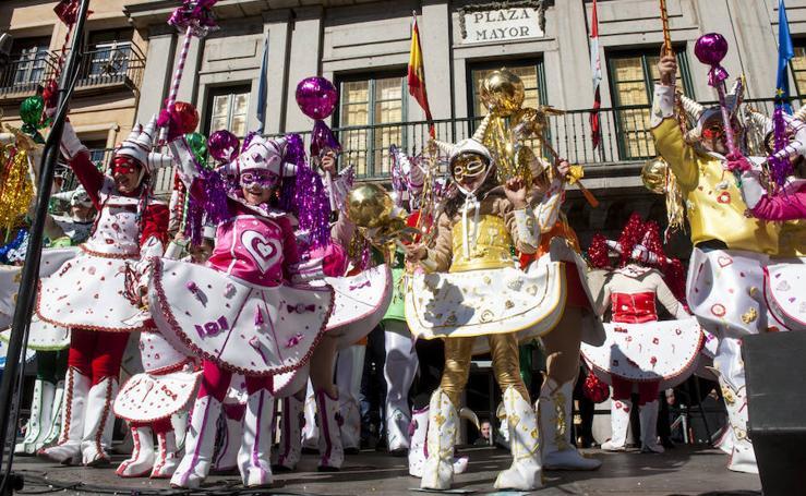 Domingo de Piñata en Segovia