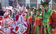 Las comparsas de Arévalo triunfa en el Concurso provincial de Carnaval celebrado en Cebreros