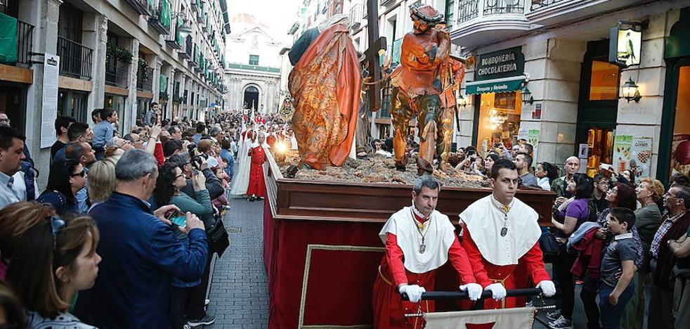 Modificaciones en los recorridos de algunas procesiones de Semana Santa en Valladolid