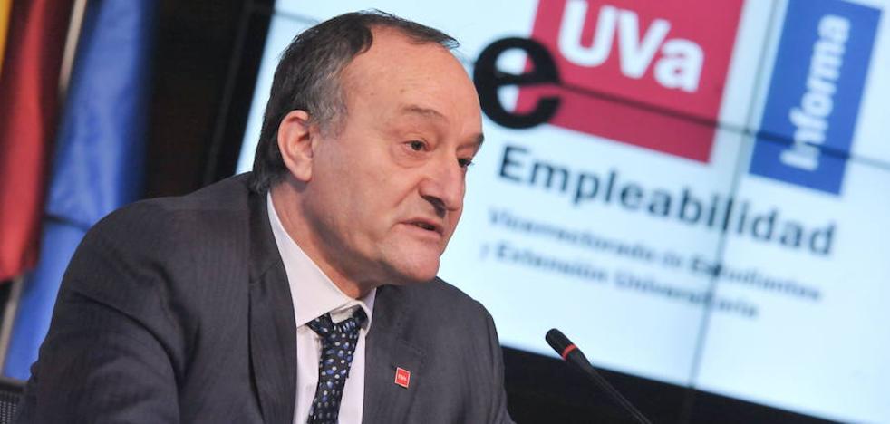 El rector de la UVA, Daniel Miguel, confirma que se presentará a la reelección