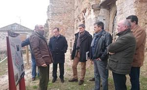 La Junta consolida las estructuras del palacio-castillo de los Zúñiga de Curiel de Duero