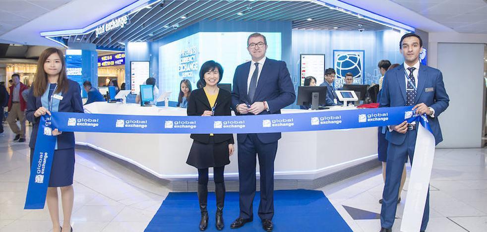 Global Exchange inaugura sus oficinas en el aeropuerto de Hong Kong