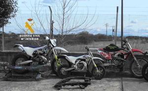 Detenido como presunto autor del robo de cuatro motos en Francia