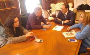 Muriel intensificará su implicación en la vida cultural de Palencia