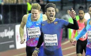 Husillos competirá en 400 metros y en relevos en el Mundial de Birmingham