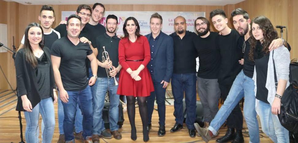 Diana Navarro, 'profe' de excepción de la Escuela de Música de Valladolid