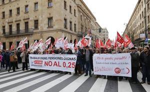 Las movilizaciones por las pensiones se retoman mañana
