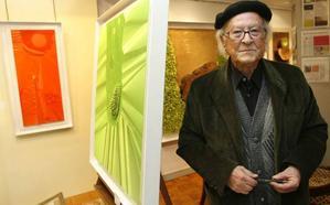 Fallece el pintor de Astudillo Alejandro Mieres