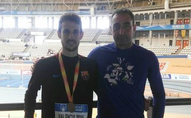 Álvaro de Arriba es el atleta español que mejor marca mundial llevará a Birmingham