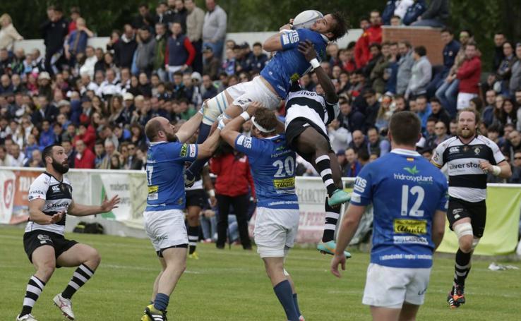 Las mejores imágenes de los últimos derbis del rugby vallisoletano
