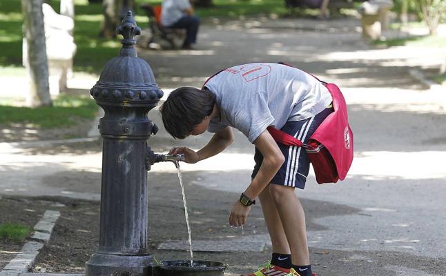 Valladolid refuerza su red de 267 fuentes públicas con veinte nuevos surtidores