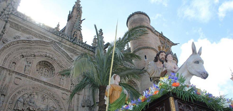 Programa de procesiones del Domingo de Ramos, 25 de marzo, en Salamanca