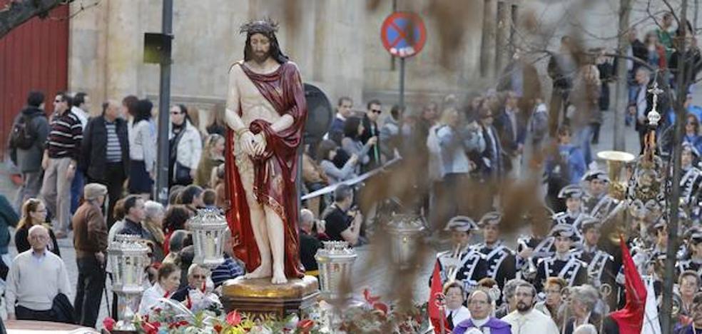 Programa de procesiones del Jueves Santo, 29 de marzo, en Salamanca