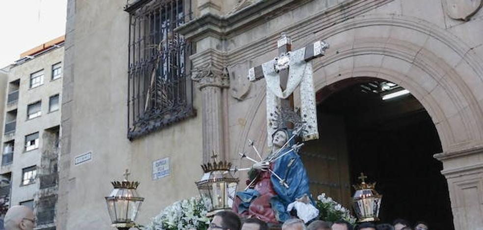 Programa de procesiones del Viernes de Dolores, 23 de marzo, en Salamanca