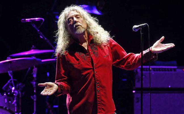 Robert Plant reconoce que Led Zeppelin planea una celebración para su 50 aniversario