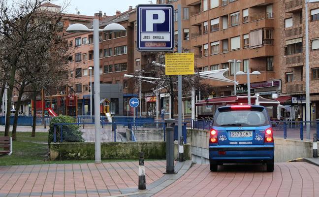 Todo preparado para 'invadir' el aparcamiento de José Zorrilla
